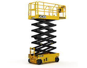 JCB 4046E Scissor Lift 3D model