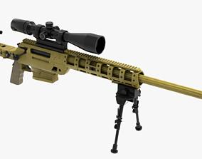 FN Ballista rifle 3D asset