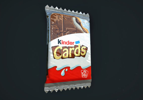 Kinder Cards-AR Project