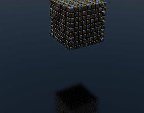 3D model Falling Cubes