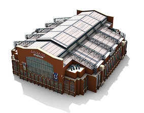 Lucas Oil Stadium Outside 3D model