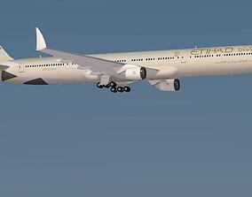 Etihad boeing 777 - 9X New 3D