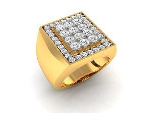 Women bride solitaire ring 3dm render detail women