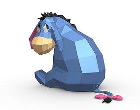 donkey figure 3D print model