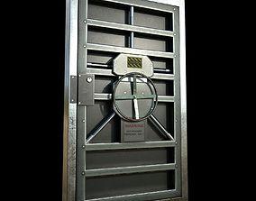 Metal door - PBR Game-Ready 3D asset