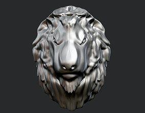 Lion Head 3 3D print model