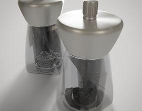3D Salt and Pepper Grinders
