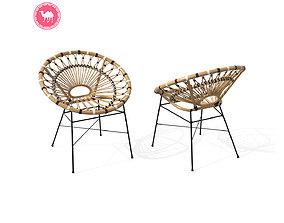 Daisy Lounge Chair 3D asset