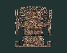 3D print model Viracocha Ancient Inca God