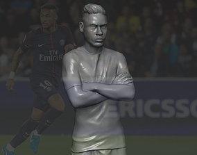 Neymar PSG 3D printing ready stl obj formats