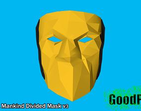 Deus Ex Mankind Divided Mask v3 3D printable model