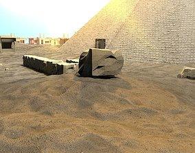 Egypt Scene Pre-Ready 3D model