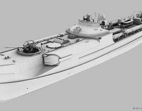 SCHNELLBOOT S38-B 3D model