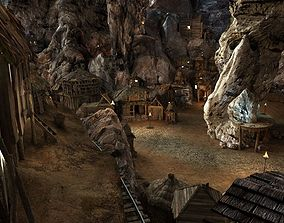Complex Cave T 01 3D