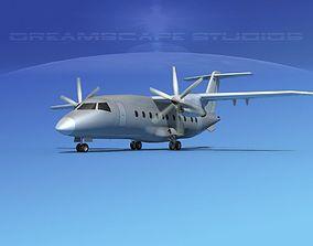 Dornier 328-130 Bare Metal 3D model