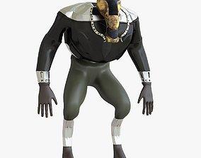 Mutant character 3D