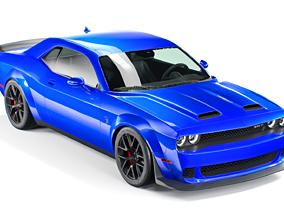 3D model Dodge Challenger Hellcat Redeye 2020