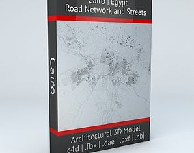 3D Cairo Road Network and Streets