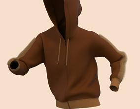 3D model Ladies Hoodie