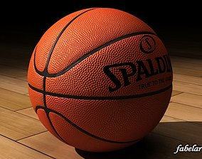 Basketball Spalding 3D model