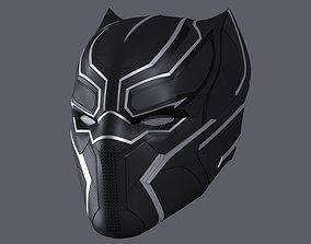 Black Panther Mask 3D print model