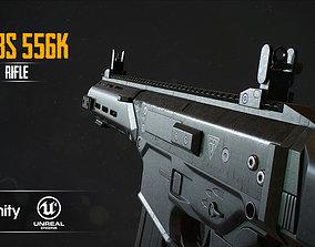 MSBS 556K 3D model game-ready