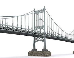 Triborough bridge 3D model