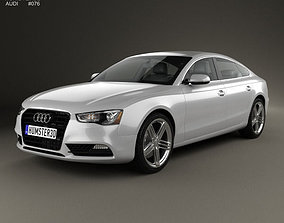 Audi A5 8TA sportback 2012 3D model