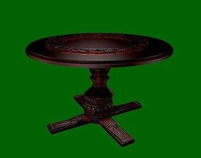 3D model Dinning table - R series - 7
