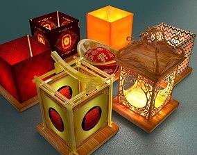 Chinese Water Lantern 3D