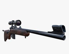 Carbine CZ 527 3D asset