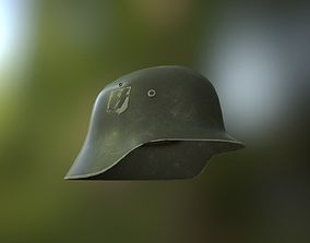 3D asset game-ready M42 Helmet