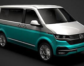 3D VW Multivan Bulli T6 1 2020