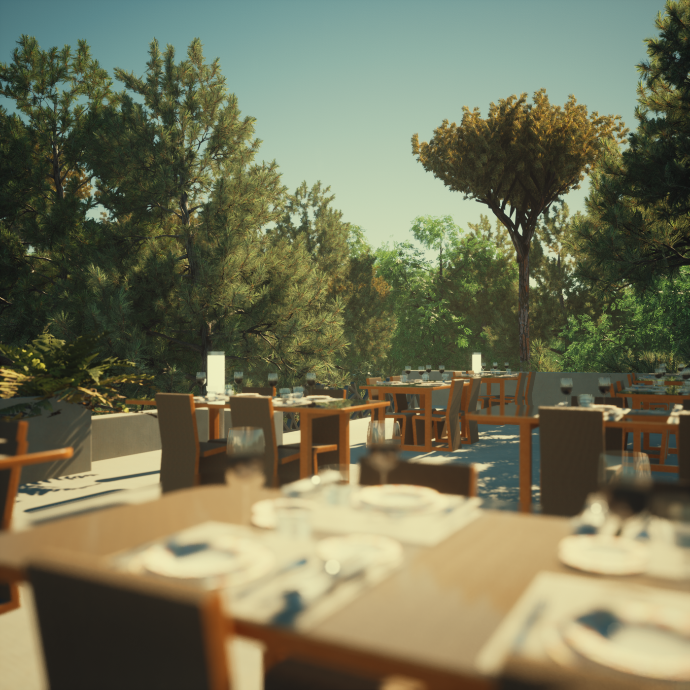 Fall Space Restaurant