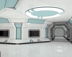 Modular Spaceship Interior MAX 3D