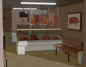 Butcher Shop 3D