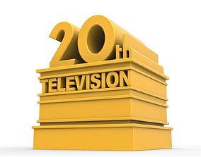 3D printable 20th television logo diy