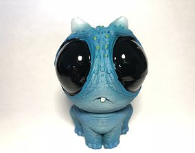 sci-fi Little Blue 3D printable model