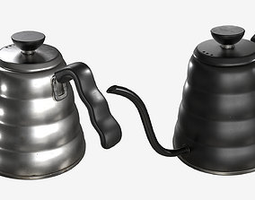 3D model Tea Coffee Drip Kettle - 002