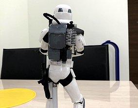 Star Wars Battlefront Magma trooper 3D printable model 2