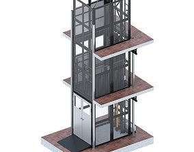 Lift KB-500 3D model