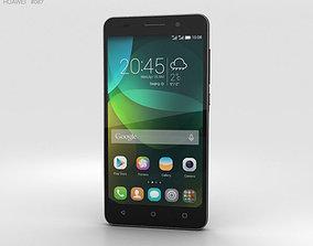 3D model Huawei Honor 4C Black