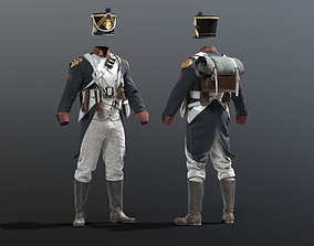 3D model SOLDIER Grande Armee French
