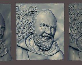 Padre Pio 3D printable model