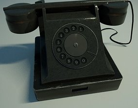 Old phone 3D model game-ready