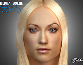Olivia Wilde 3D model