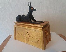 Anubis shrine deckbox for Magic The 3D printable model