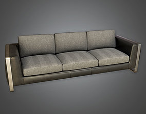 ARV1 - Couch 01a - PBR Arch Viz - Game Ready 3D asset