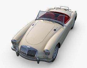 3D model MG MGA Twin-Cam