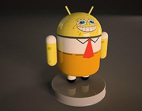 3D Sponge Bob Android Model android